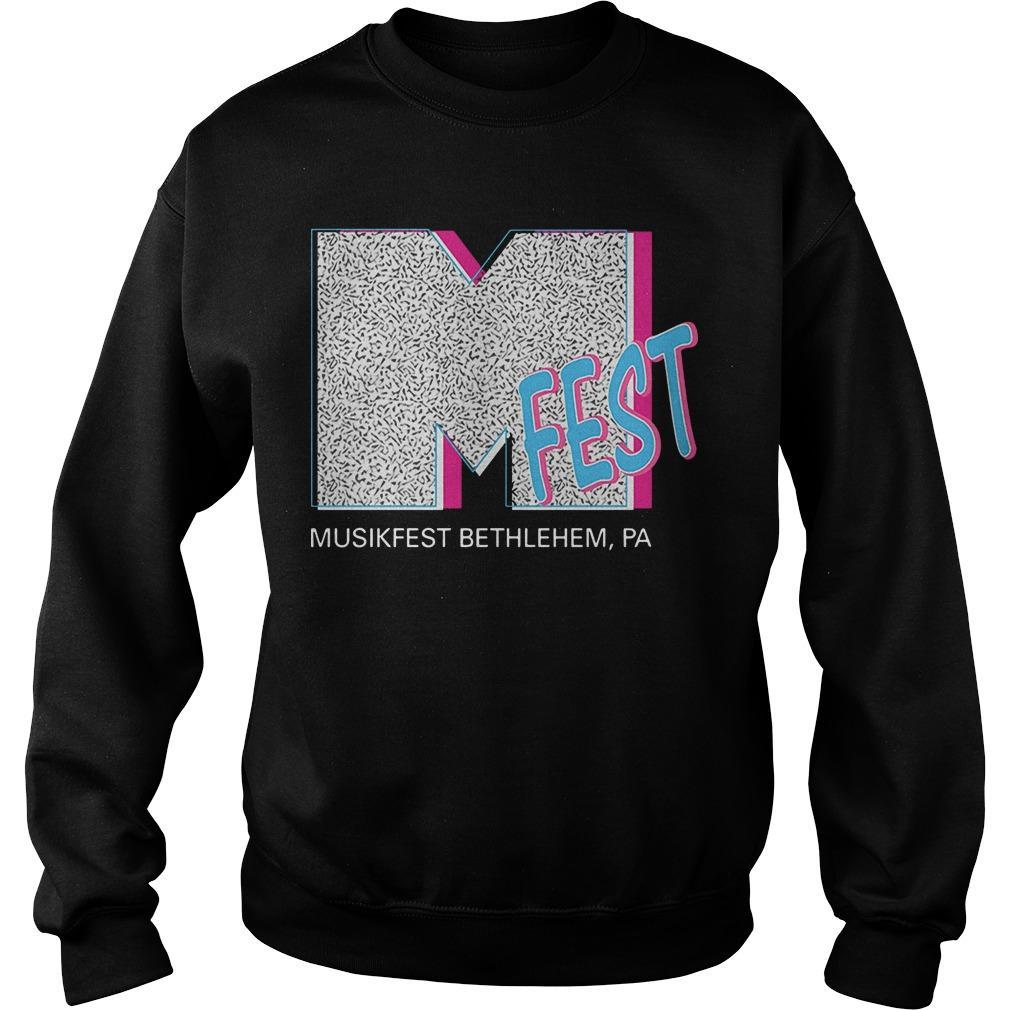 M Fest Musikfest Bethlehem Pa Sweater