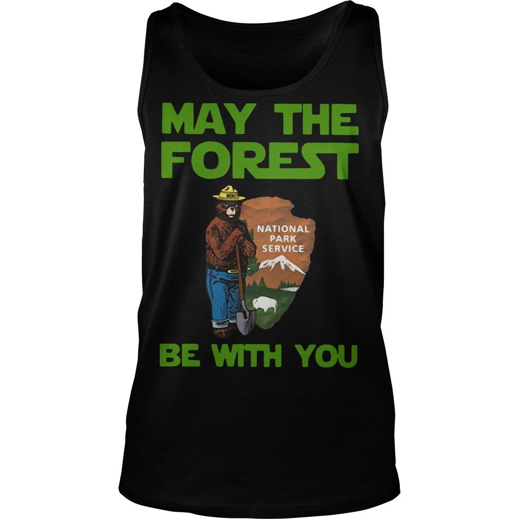 National Park Service May The Forest Be With You Tank Top