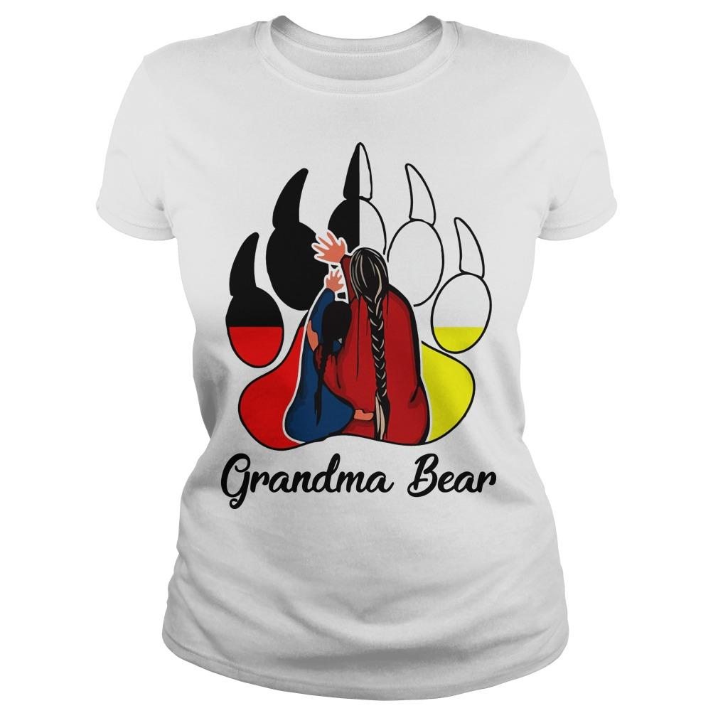 Native Grandma Bear Longsleeve