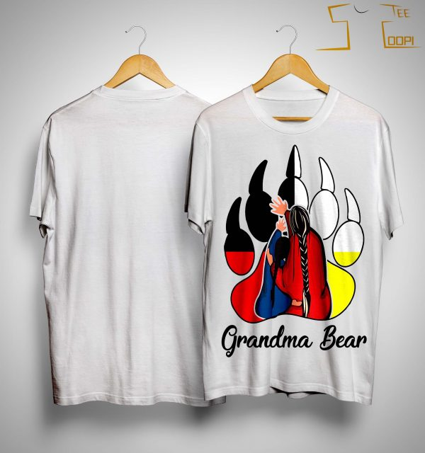 Native Grandma Bear Shirt