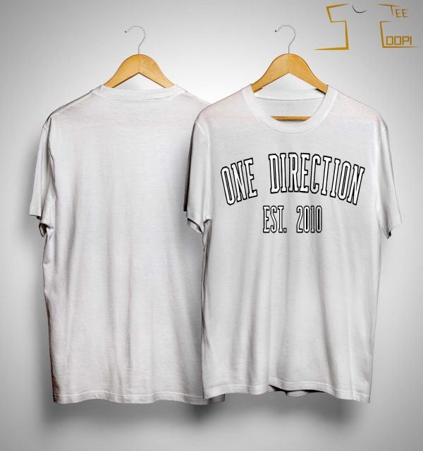 One Direction Est 2010 Shirt