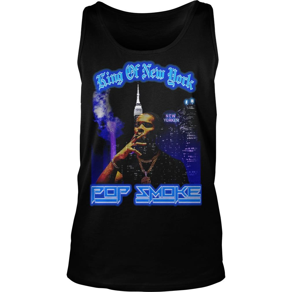 Pop Smoke King Of New York Tank Top