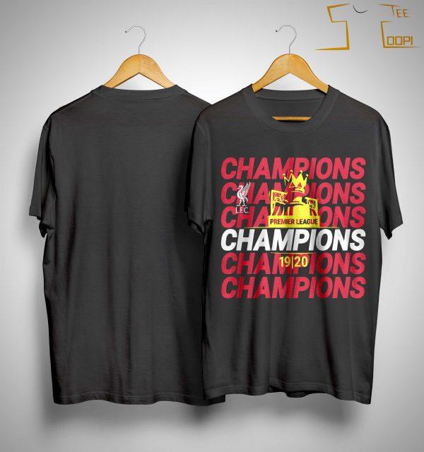 Premier League Liverpool Champions Shirt