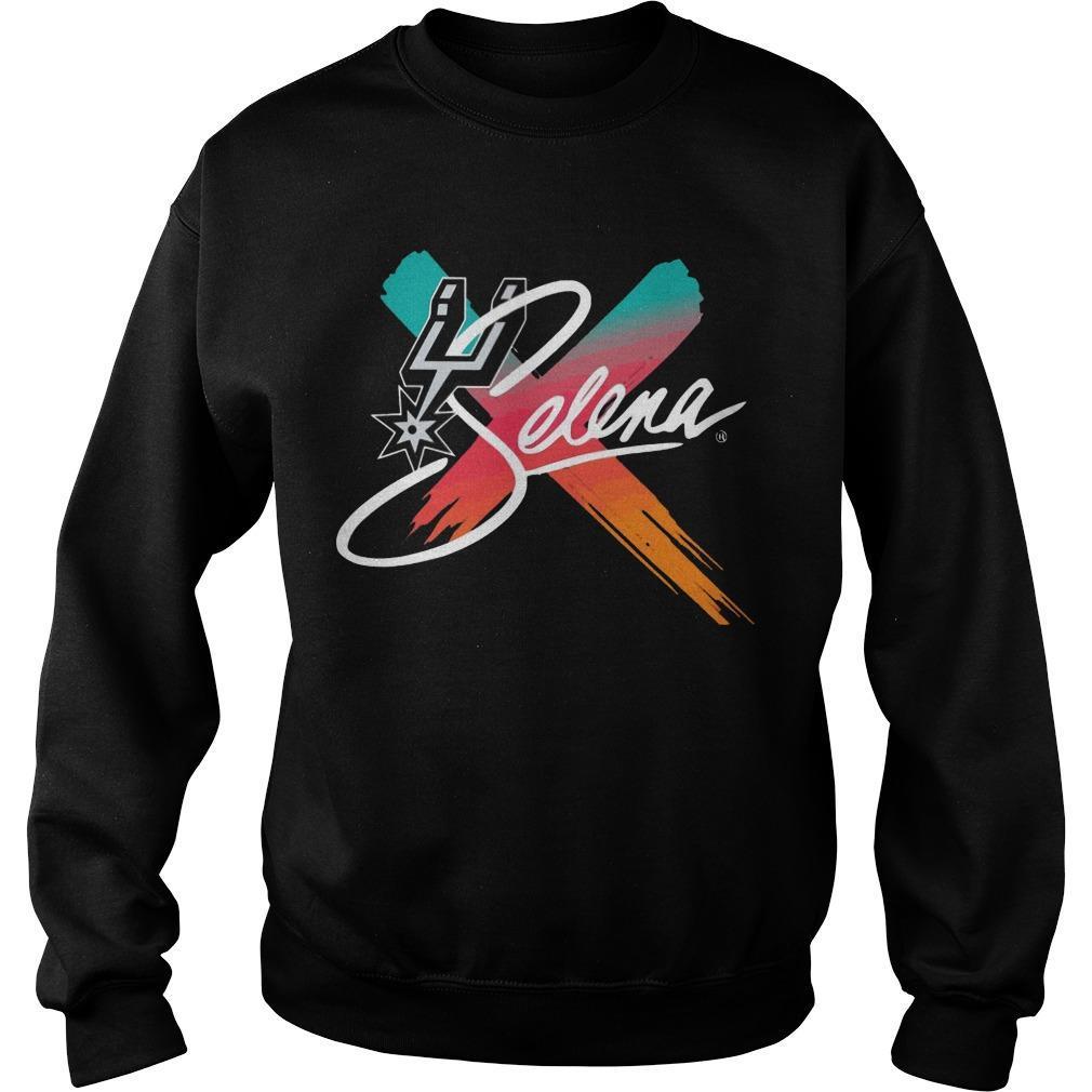 Selena Spurs Sweater