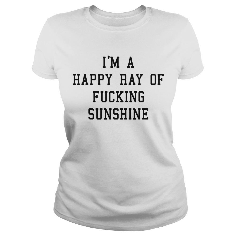 Strength Coach Ewa I'm A Happy Ray Of Fucking Sunshine Longsleeve