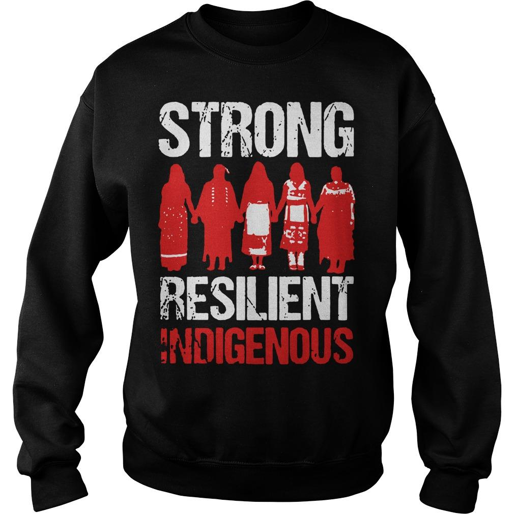 Strong Resilient Indigenous Sweater