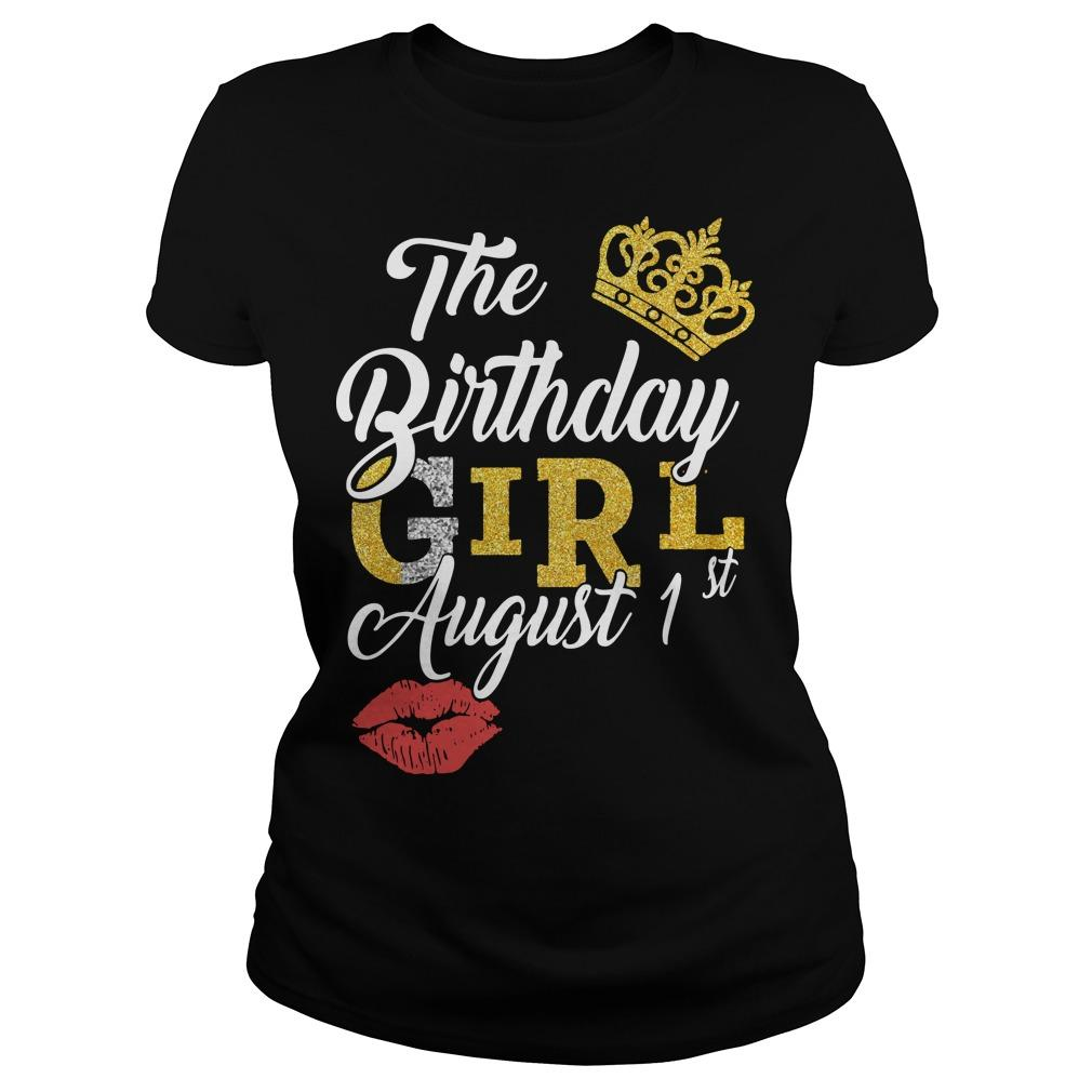 The Birthday Girl August 1st Longsleeve