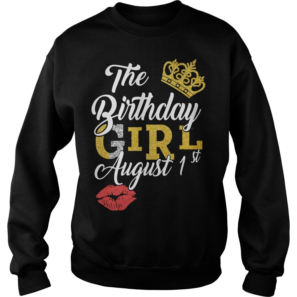 The Birthday Girl August 1st Sweater