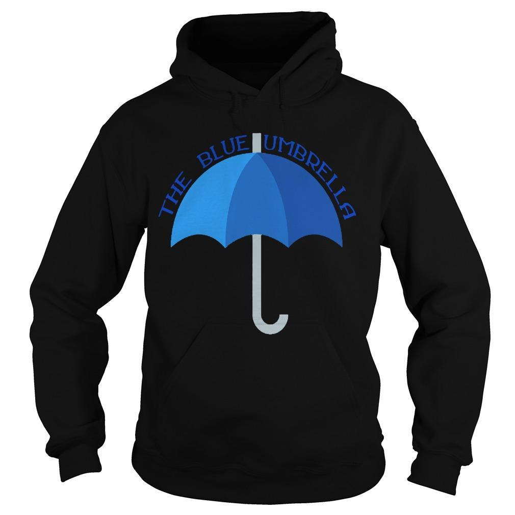 The Blue Umbrella Meaning Hoodie