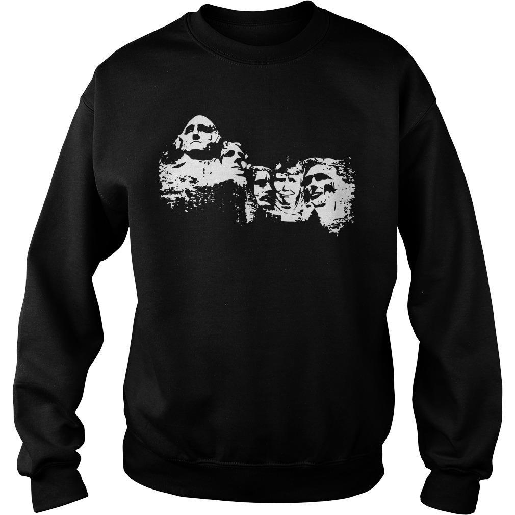 Trump Mt Rushmore T Sweater