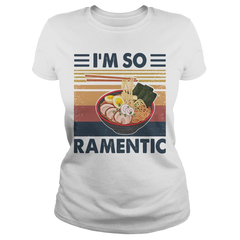 Vintage I'm So Ramentic Longsleeve