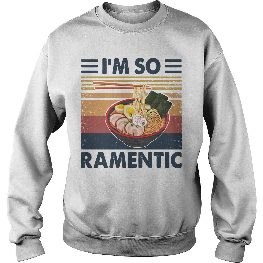 Vintage I'm So Ramentic Sweater