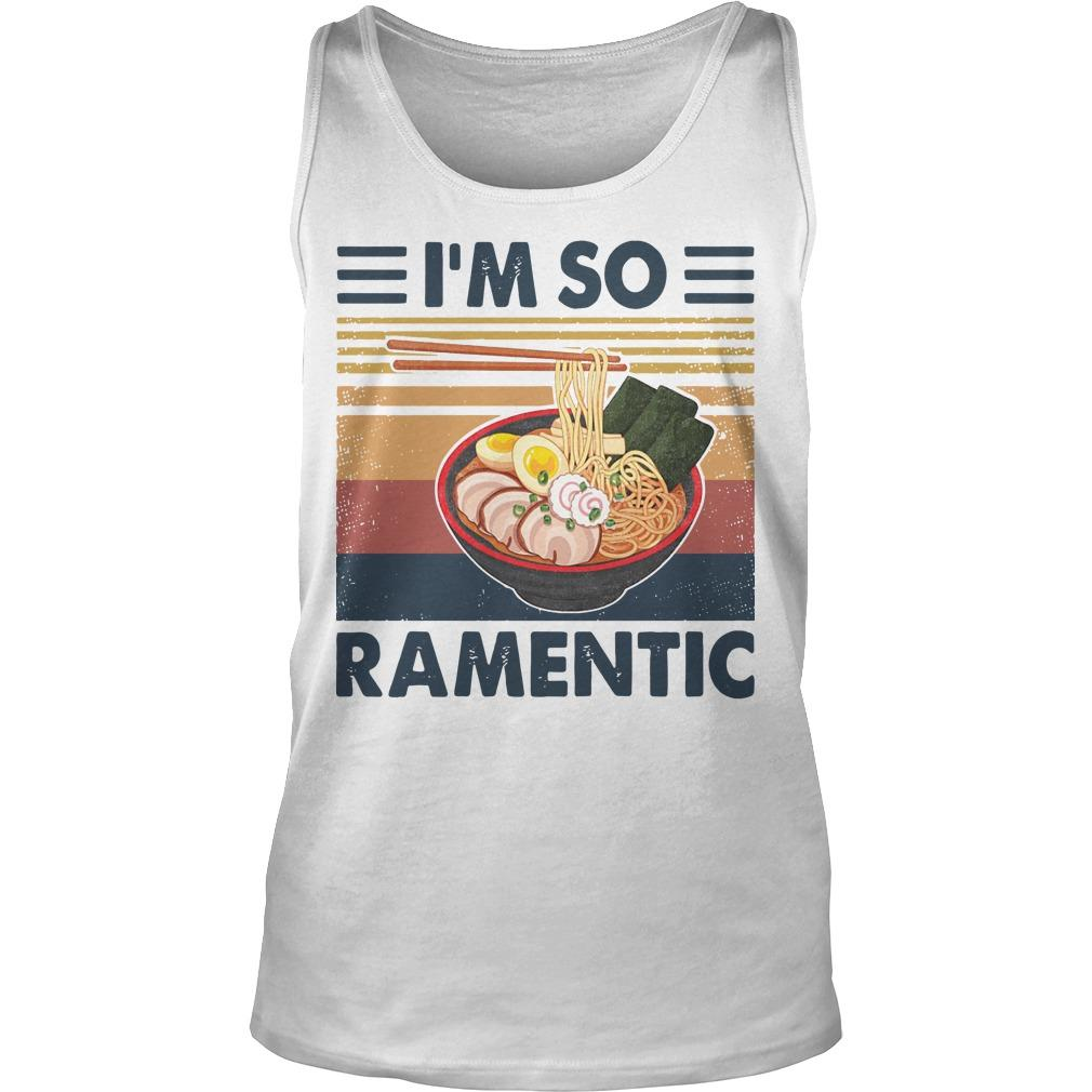 Vintage I'm So Ramentic Tank Top