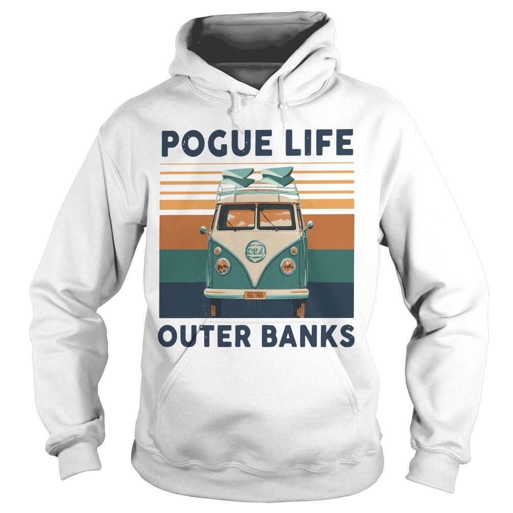 Vintage Pogue Life Outer Banks Hoodie