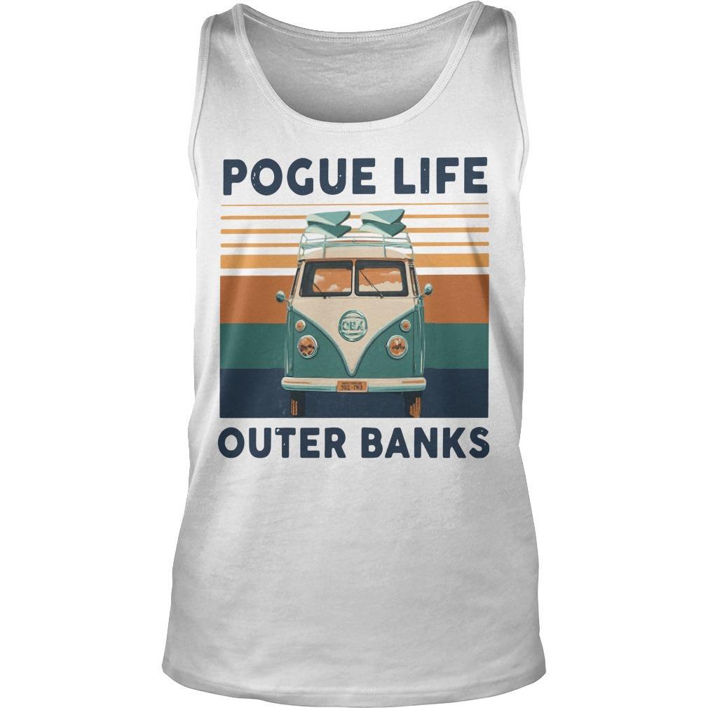 Vintage Pogue Life Outer Banks Tank Top
