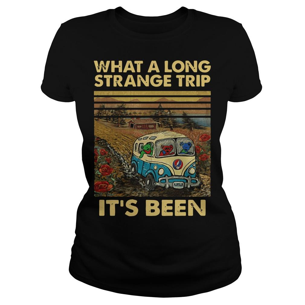Vintage What A Long Strange Trip It's Been Longsleeve