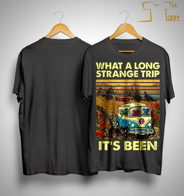 Vintage What A Long Strange Trip It's Been Shirt