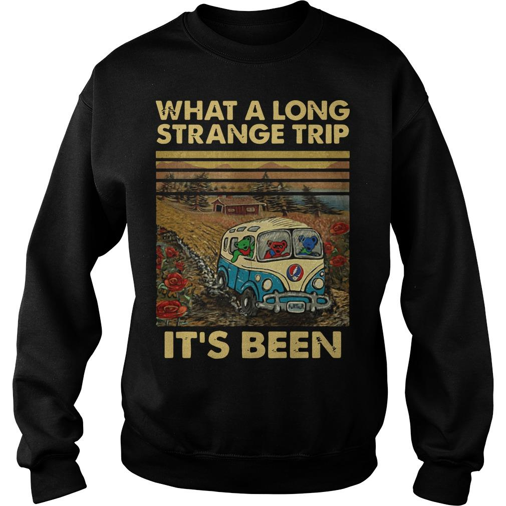 Vintage What A Long Strange Trip It's Been Sweater