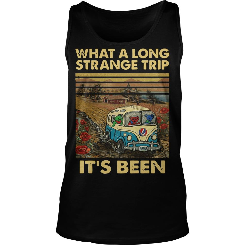 Vintage What A Long Strange Trip It's Been Tank Top