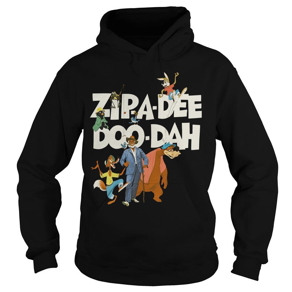 Zipa Dee Doo Dah We're Headin' For The Laughin' Place Hoodie