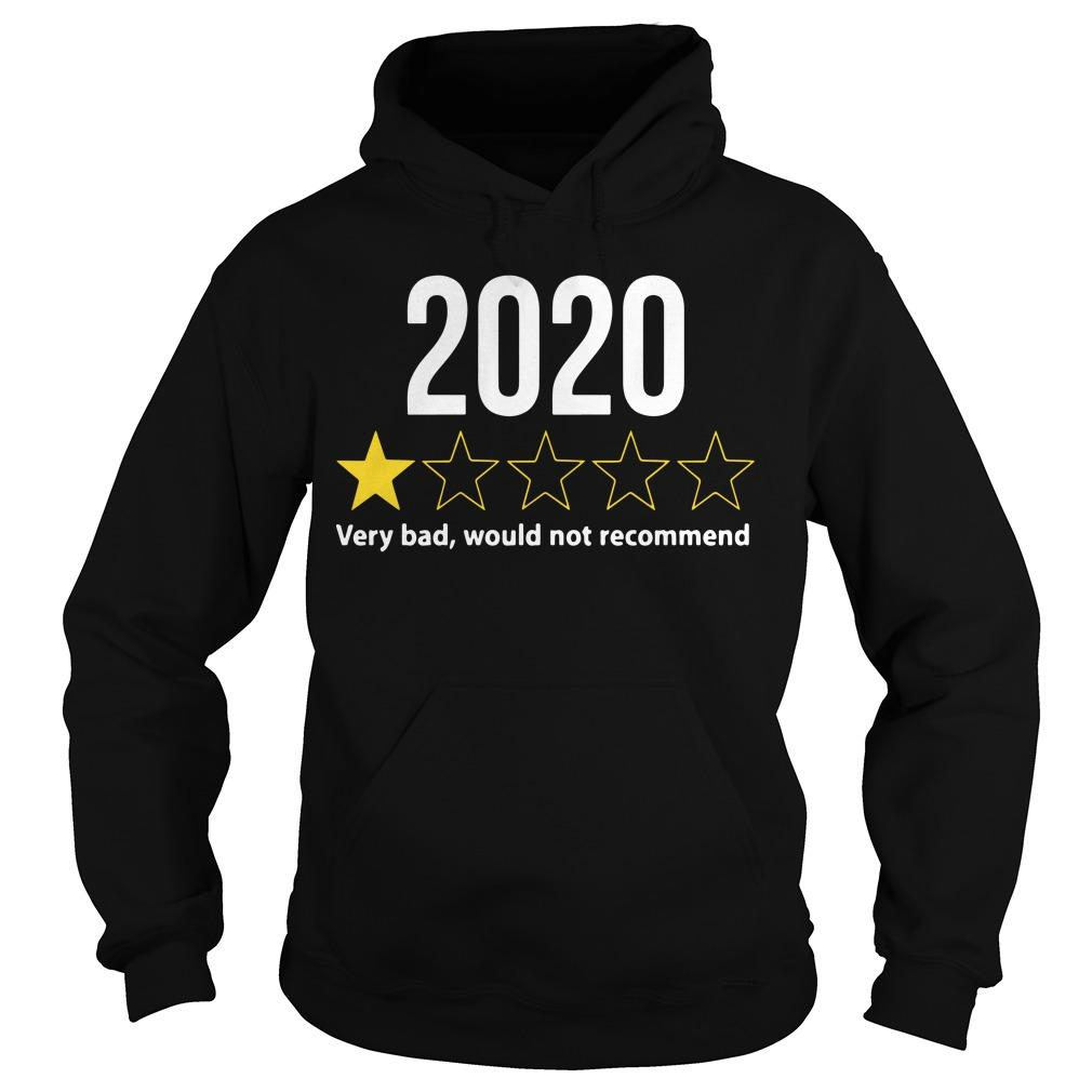 2020 Would Not Recommend Hoodie