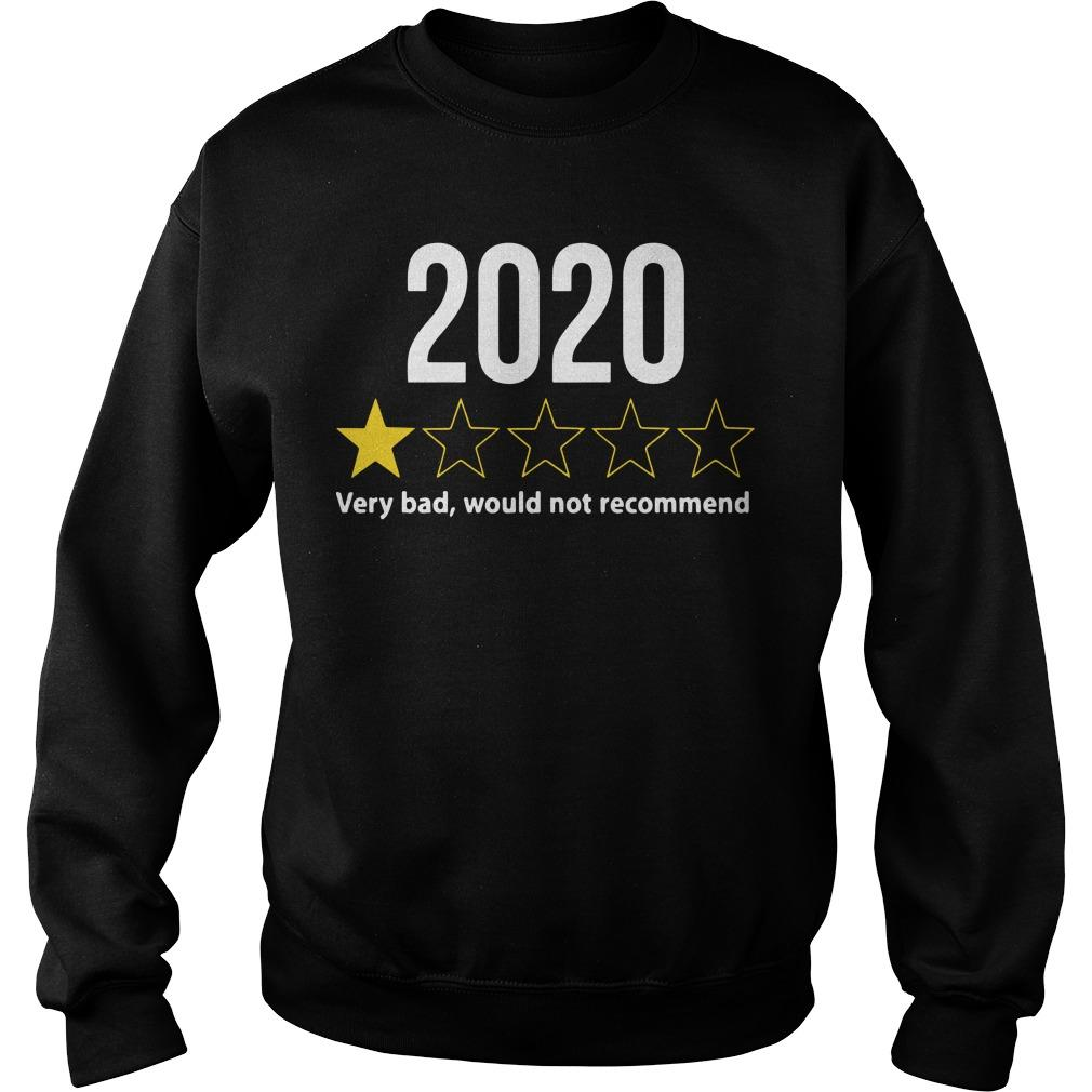 2020 Would Not Recommend Sweater