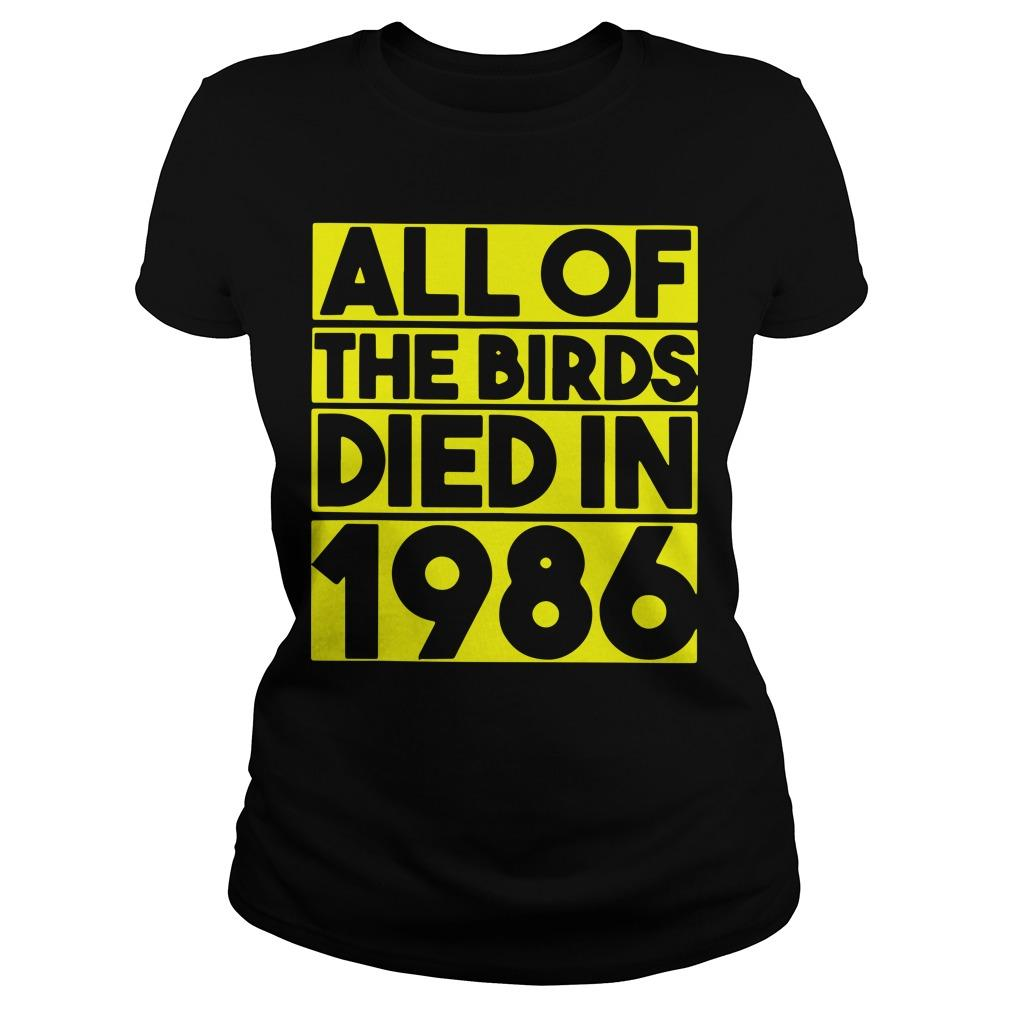 All The Birds Died In 1986 Longsleeve