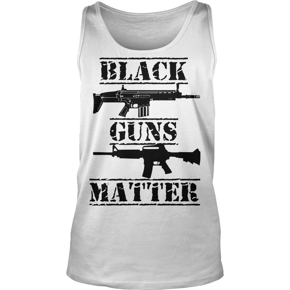 Black Guns Matter Tank Top