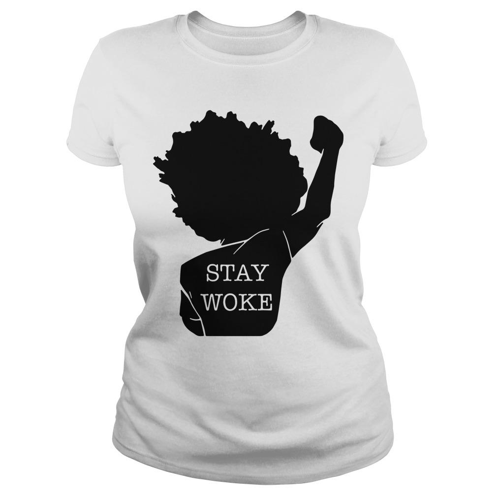 Black Lives Matter Stay Woke Longsleeve