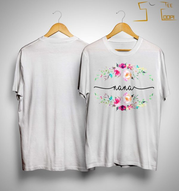 Flower Nana Shirt