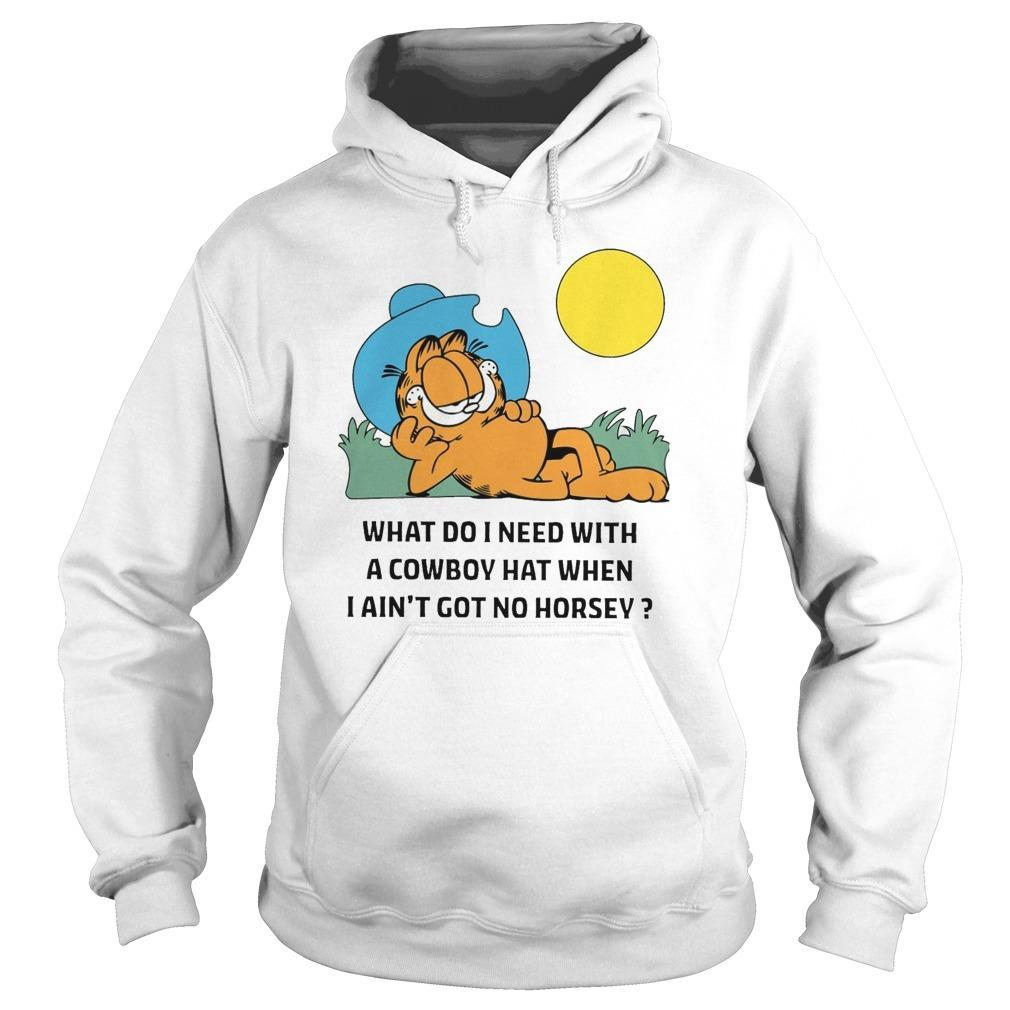 Garfield Cowboy Hoodie