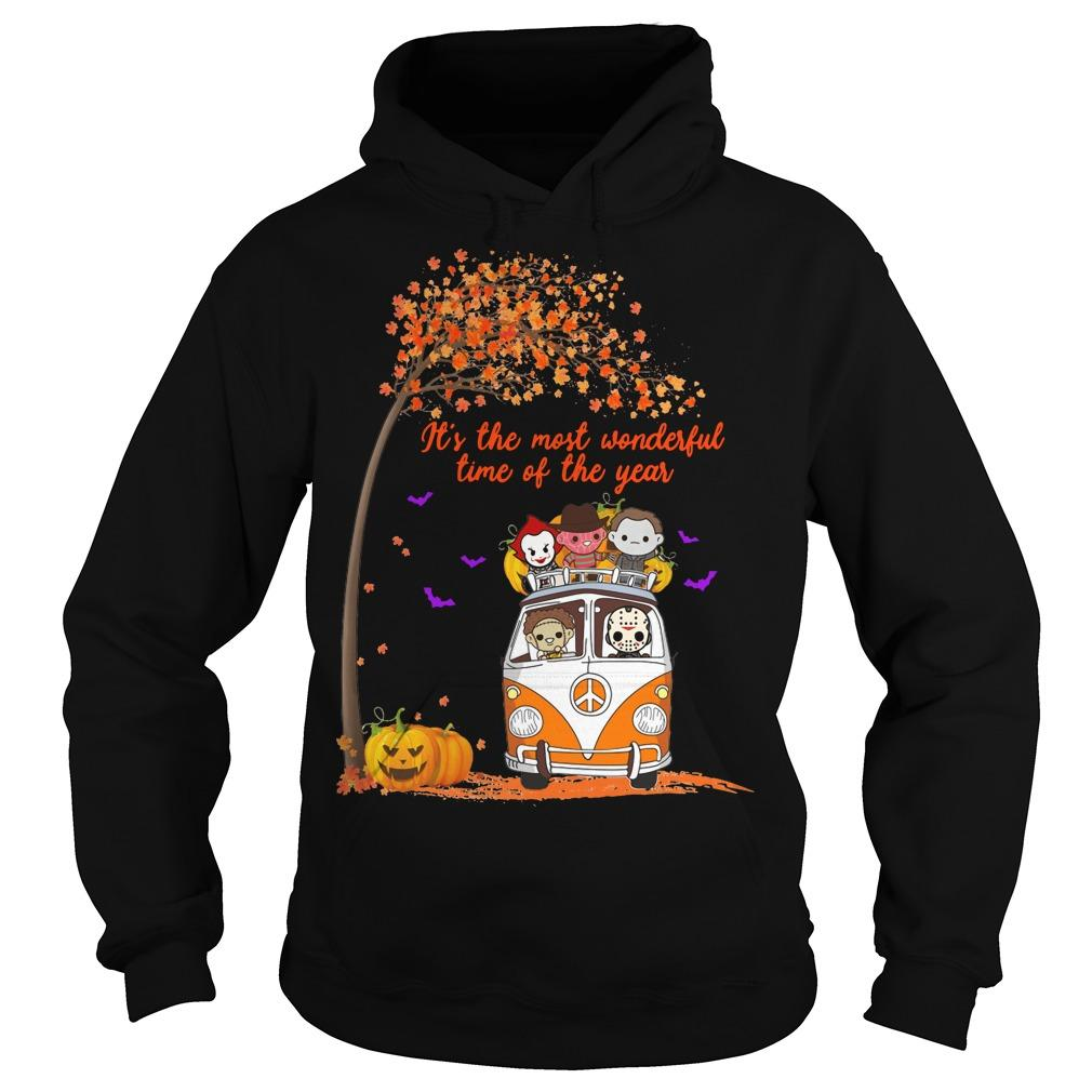 Horror Character It's The Most Wonderful Time Of The Year Hoodie