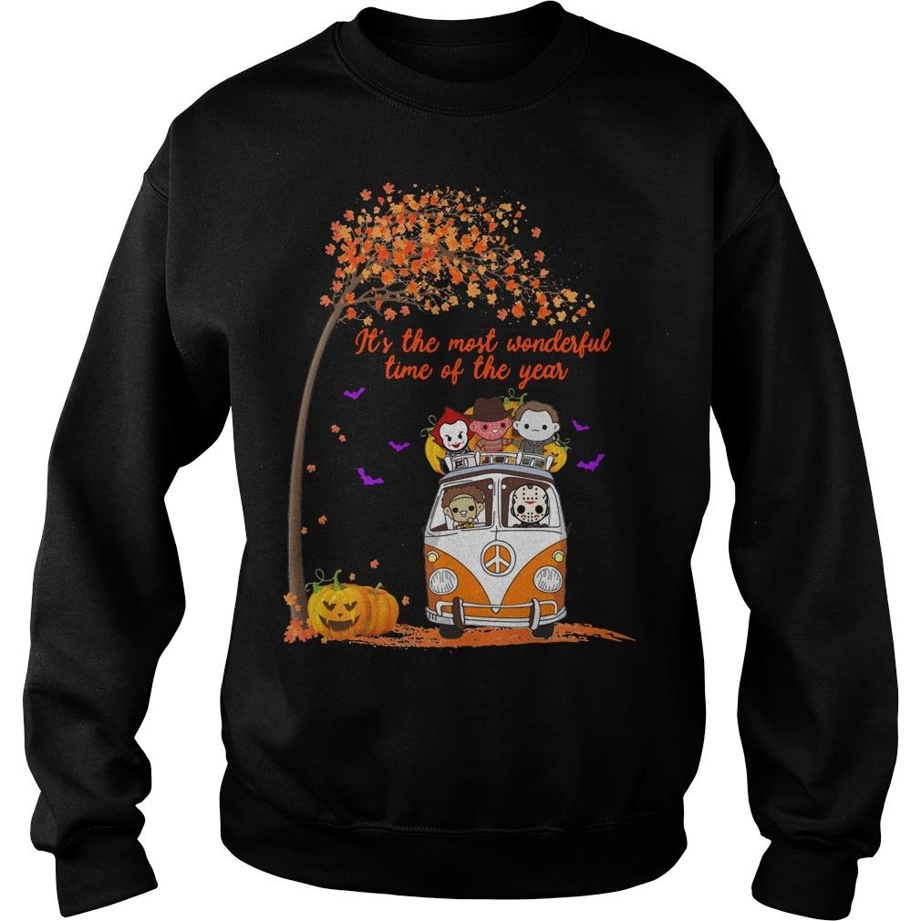 Horror Character It's The Most Wonderful Time Of The Year Sweater
