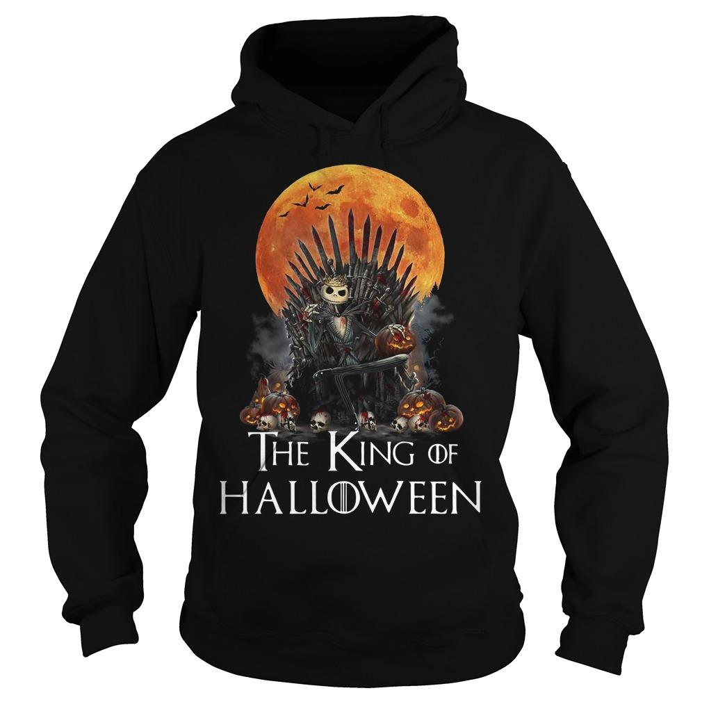 Iron Throne Jack Skellington The King Of Halloween Hoodie