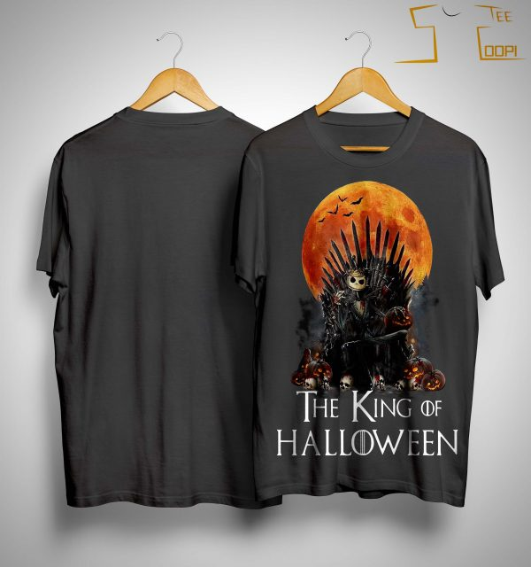 Iron Throne Jack Skellington The King Of Halloween Shirt