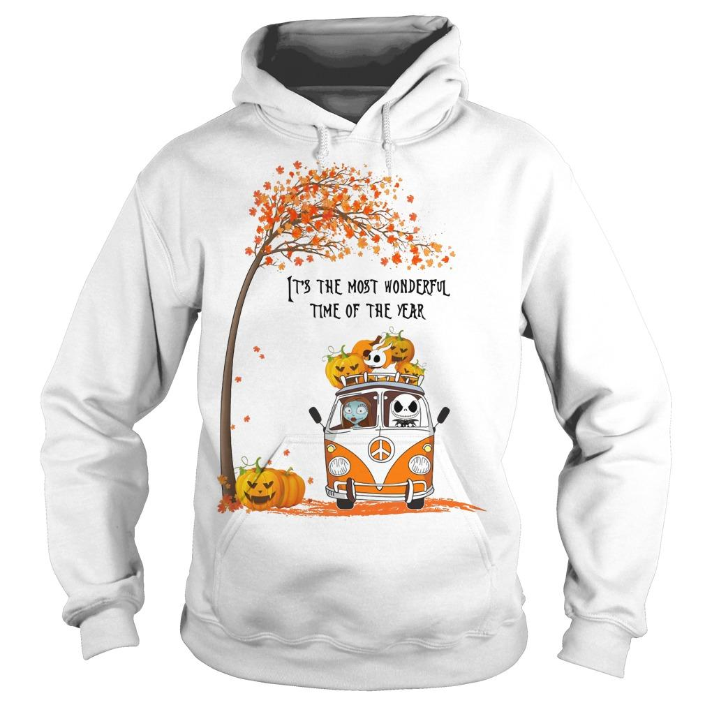 Jack Skellington It's The Most Wonderful Time Of The Year Hoodie