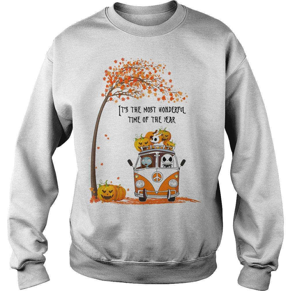 Jack Skellington It's The Most Wonderful Time Of The Year Sweater