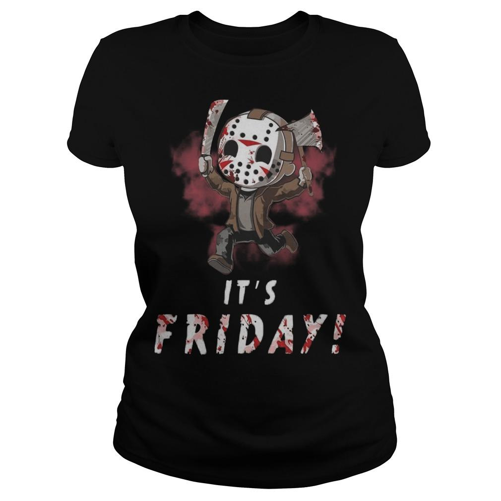 Jason Voorhees It's Friday Longsleeve