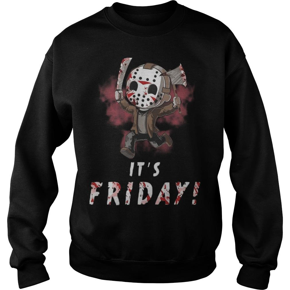 Jason Voorhees It's Friday Sweater