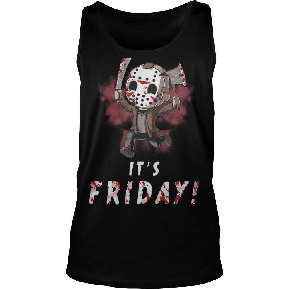 Jason Voorhees It's Friday Tank Top