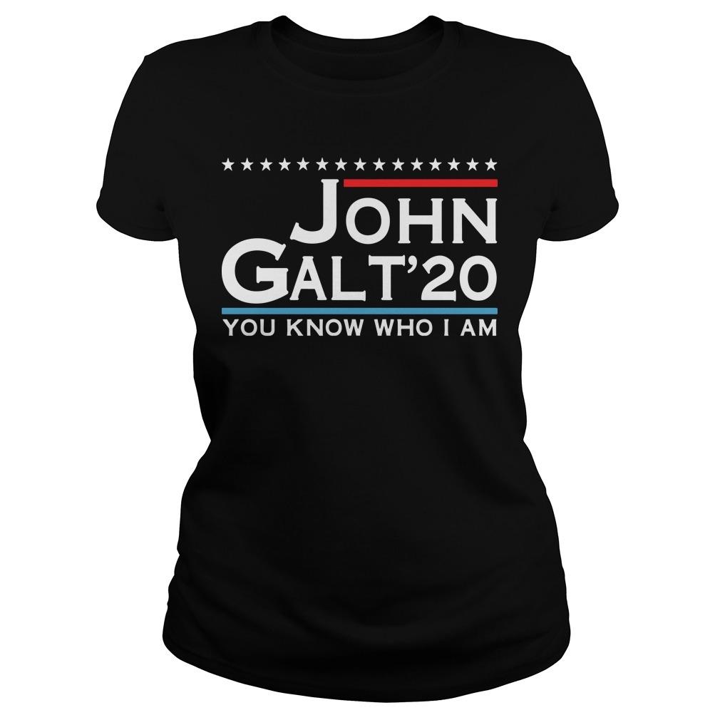 John Galt '20 You Know Who I Am Longsleeve