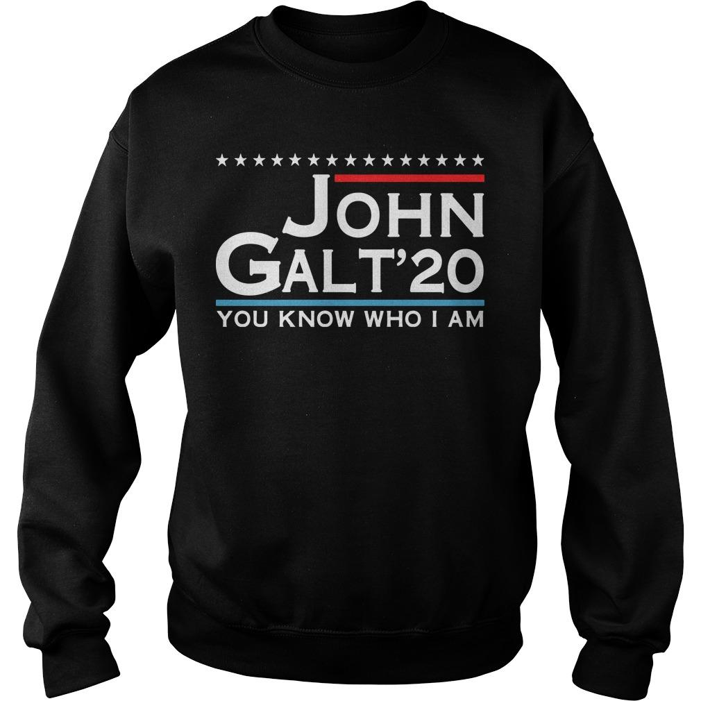 John Galt '20 You Know Who I Am Sweater