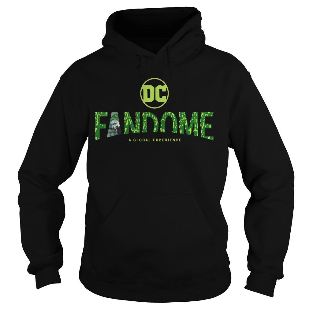 Joker Logo Fill Dc Fandome Hoodie
