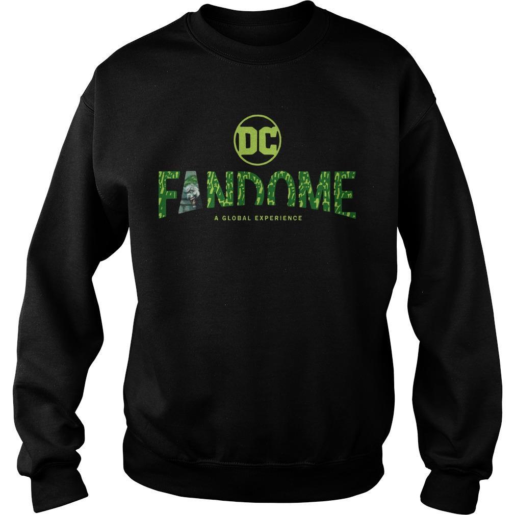 Joker Logo Fill Dc Fandome Sweater
