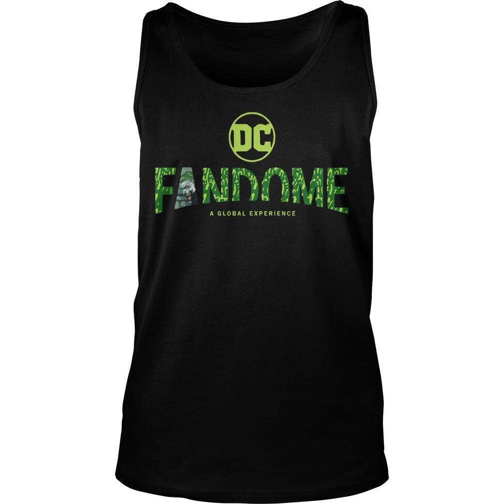 Joker Logo Fill Dc Fandome Tank Top