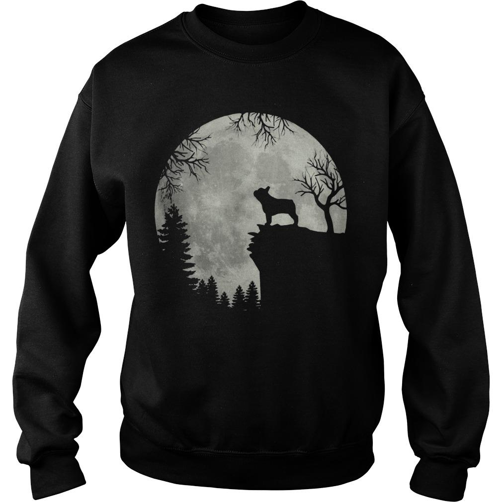 Moon French Bulldog Sweater