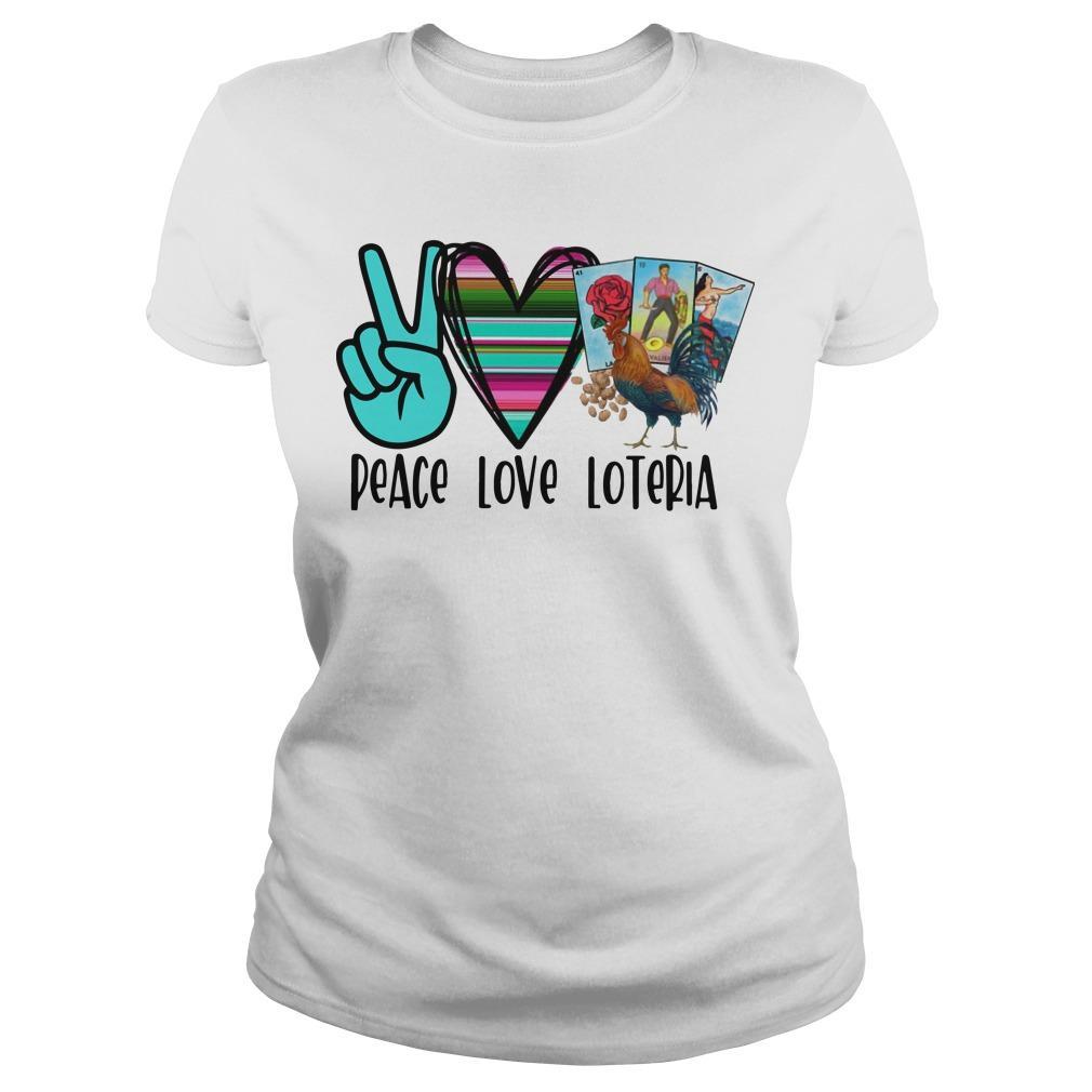 Peace Love Loteria Longsleeve