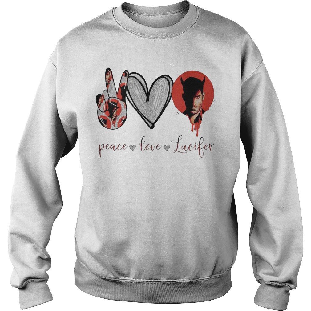 Peace Love Lucifer Sweater