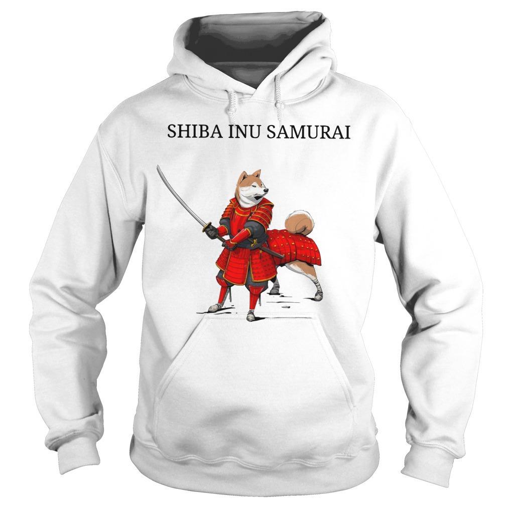 Shiba Inu Samurai Hoodie