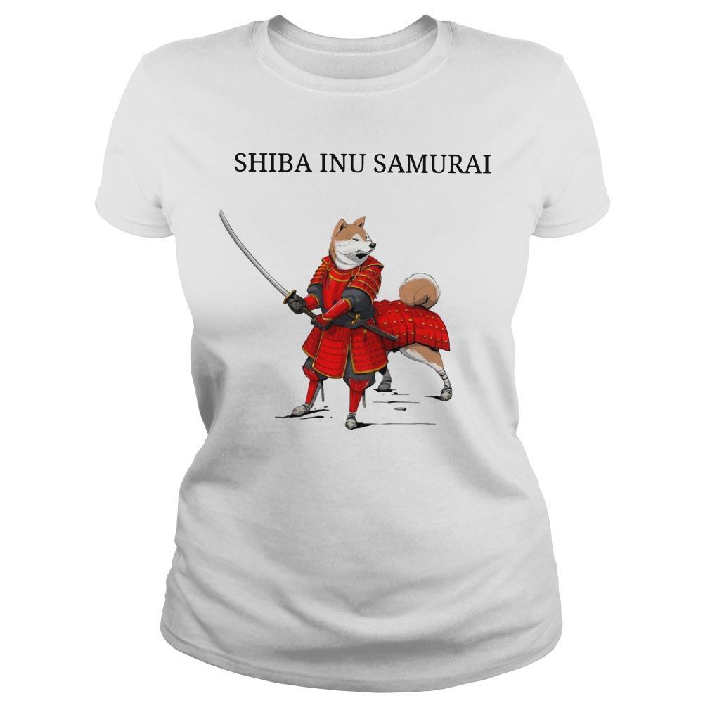 Shiba Inu Samurai Longsleeve